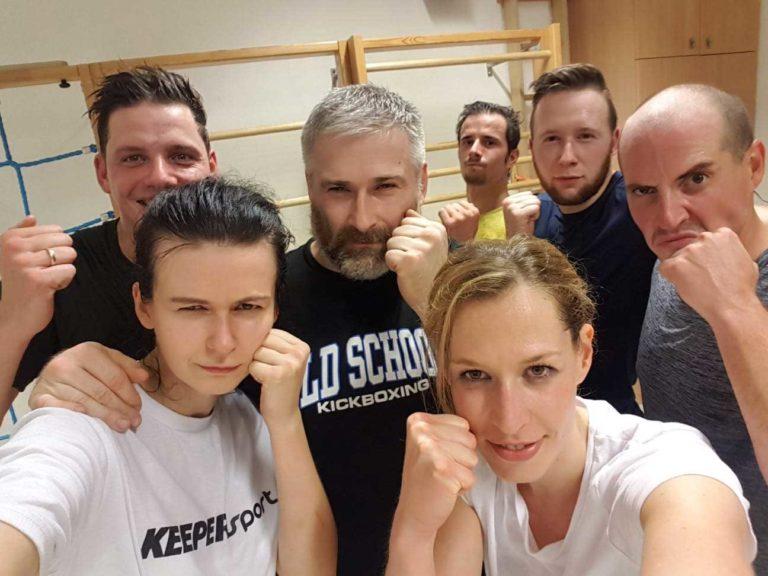 old-school-kickboxen-Truppe